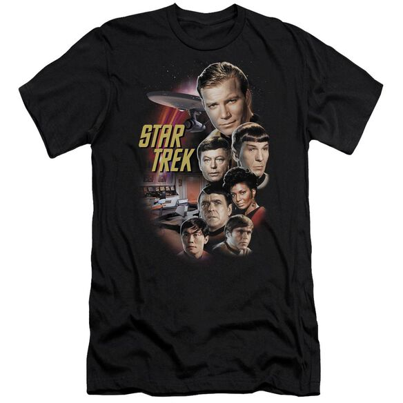 ST ORIGINAL THE CLASSIC CREW - S/S ADULT 30/1 - BLACK T-Shirt