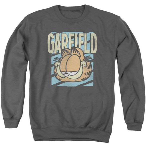 Garfield Rad Garfield Adult Crewneck Sweatshirt