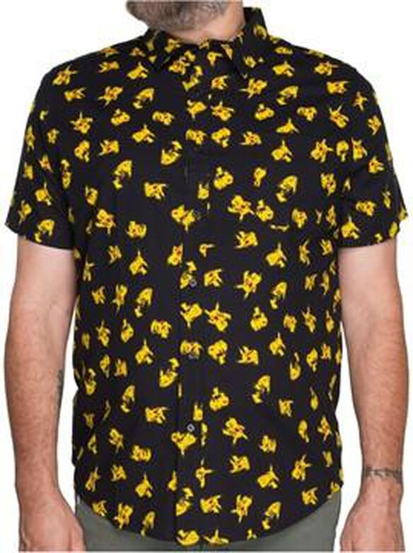Pokemon Pikachu Jumble Woven Shirt