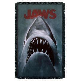 Jaws Shark Woven Throw