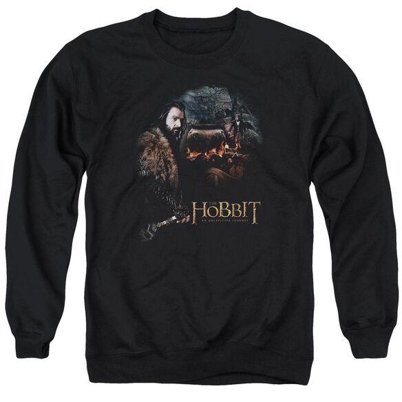 The Hobbit Cauldron Adult Crewneck Sweatshirt