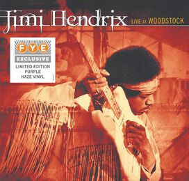 Jimi Hendrix - Live At Woodstock [Exclusive Purple Haze Vinyl]