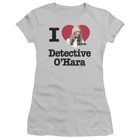 Psych I Heart O'hara Short Sleeve Junior Sheer T-Shirt