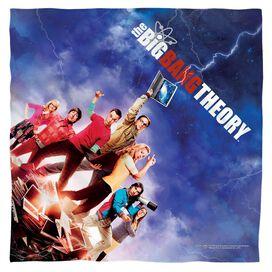 Big Bang Theory Poster Bandana White