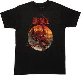 Carnage 2 Climbing Out Circle T-Shirt