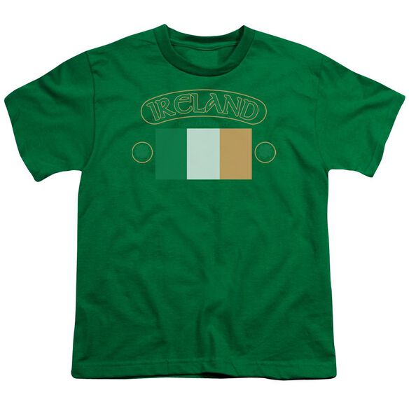 Ireland Flag Short Sleeve Youth Hunter T-Shirt