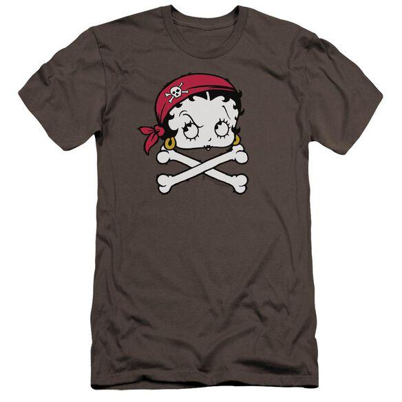 Betty Boop Pirate Premuim Canvas Adult Slim Fit