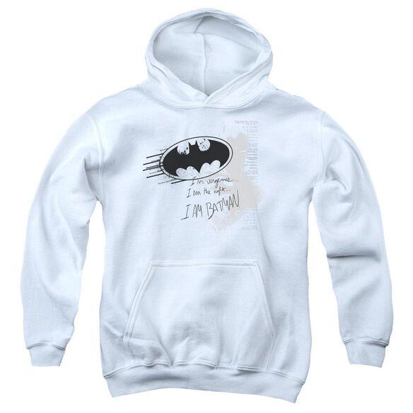 Batman I Am Vengeance Youth Pull Over Hoodie