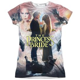 Princess Bride Soft Collage Short Sleeve Junior Poly Crew T-Shirt