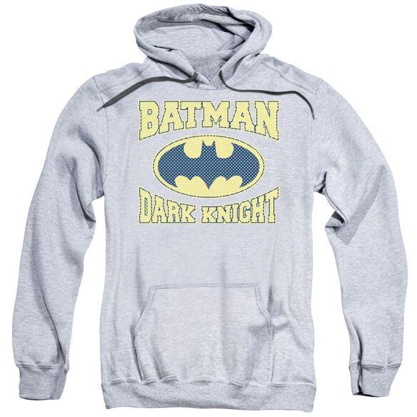 Batman Dark Knight Jersey Adult Pull Over Hoodie Athletic