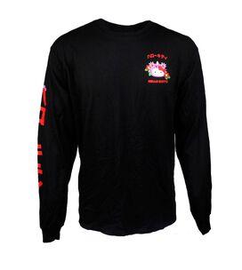 Hello Kitty Kaiju Kanji Long Sleeve T-Shirt
