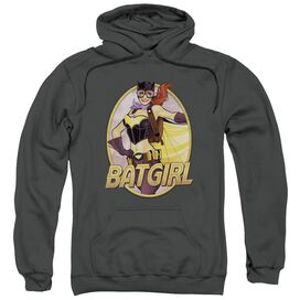 Jla Batgirl Bombshell Adult Pull Over Hoodie