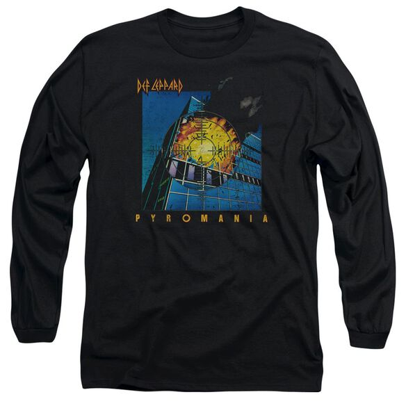 Def Leppard Pyromania Long Sleeve Adult T-Shirt