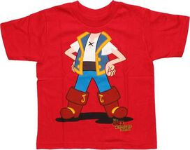 Jake and the Never Land Pirates Body Toddler T-Shirt