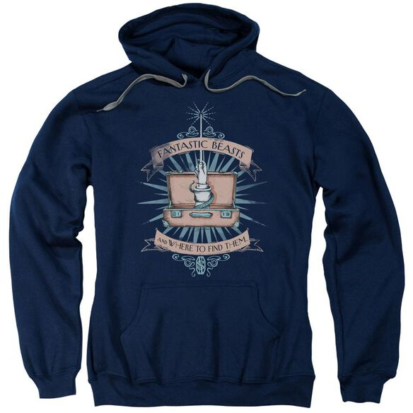 Fantastic Beasts Briefcase Adult Pull Over Hoodie
