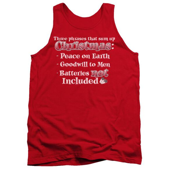 Three Phrases Adult Tank