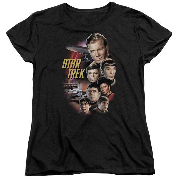 St Original The Classic Crew Short Sleeve Womens Tee T-Shirt