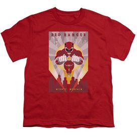 Power Rangers Deco Short Sleeve Youth T-Shirt