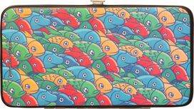 Digimon Marching Fishes Clutch Wallet