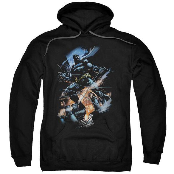 Batman Gotham Knight Adult Pull Over Hoodie