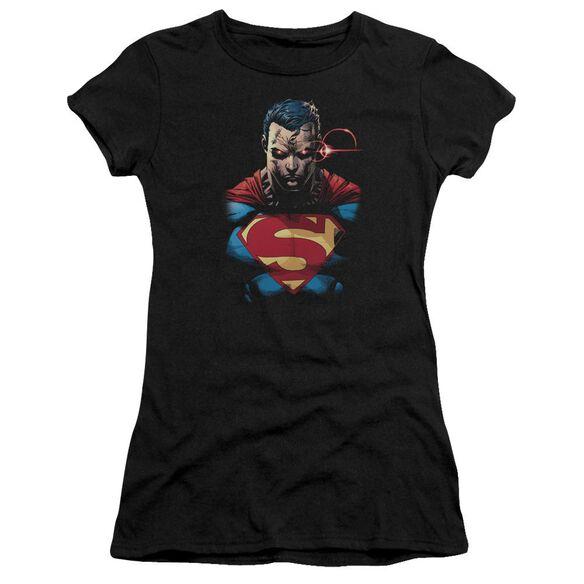 Superman Displeased Premium Bella Junior Sheer Jersey