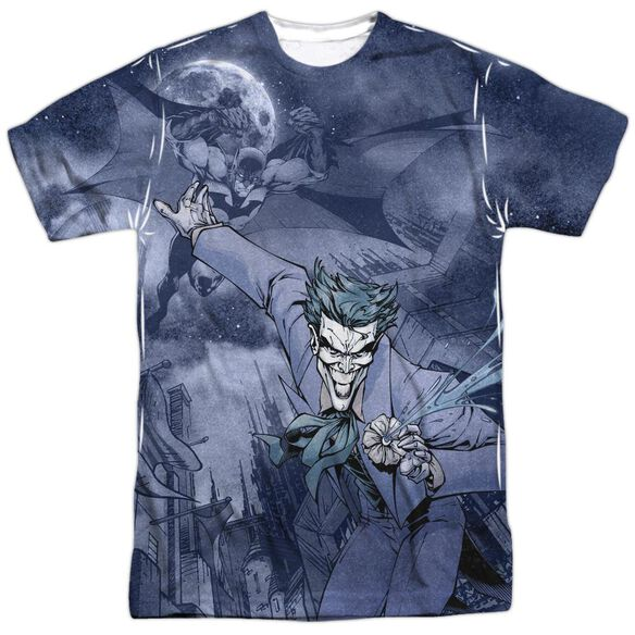 Batman Catch The Joker Short Sleeve Adult 100% Poly Crew T-Shirt