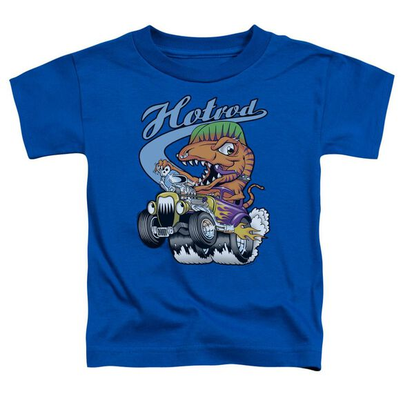 Hotrod Short Sleeve Toddler Tee Royal Blue T-Shirt