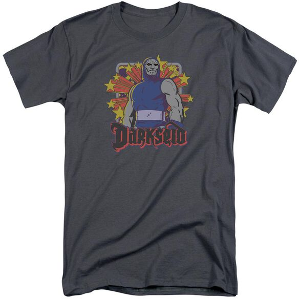 Dc Darkseid Stars Short Sleeve Adult Tall T-Shirt