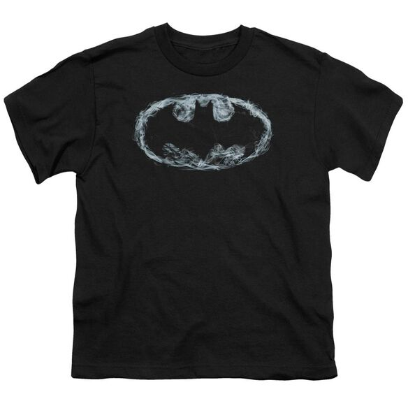 Batman Smoke Signal Short Sleeve Youth T-Shirt