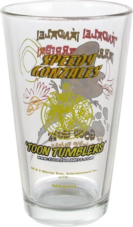 Looney Tunes Speedy Gonzales Pint Glass