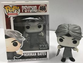 NYCC Exclusive Norman Bates B&W Funk Pop