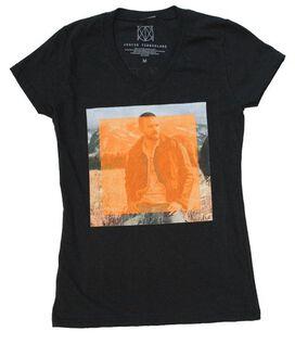 Justin Timberlake Man of the Woods Photo Juniors T-Shirt