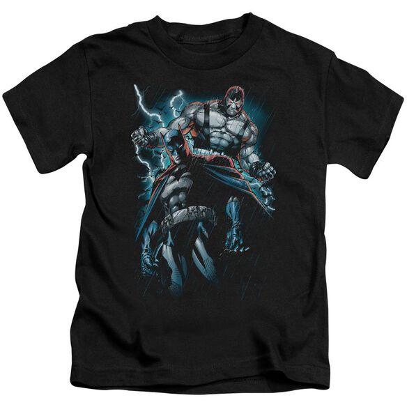 Batman Evil Rising Short Sleeve Juvenile Black T-Shirt