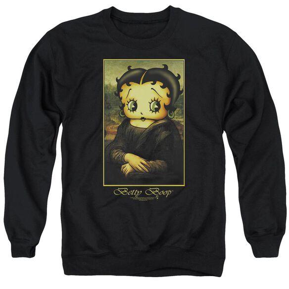 Betty Boop Boopalisa Adult Crewneck Sweatshirt