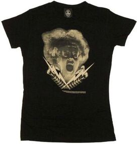 Bride of Frankenstein Bolts Baby Tee