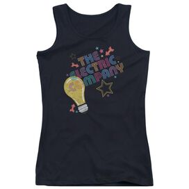 Electric Company Electric Light Juniors Tank Top