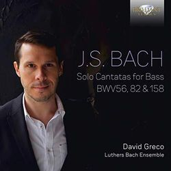 J.S. Bach / Greco - Solo Cantatas for Bass