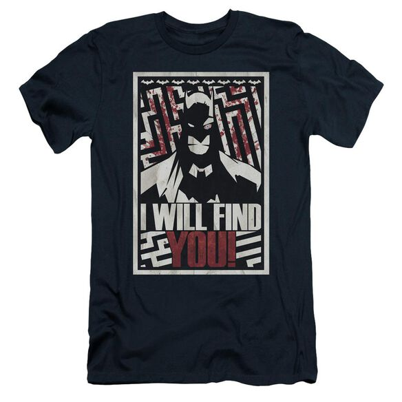 Batman I Will Fnd You Short Sleeve Adult T-Shirt