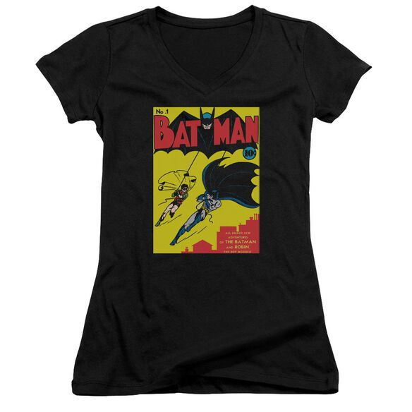Batman Batman First Junior V Neck T-Shirt