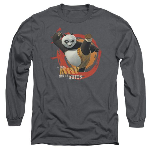 Kung Fu Panda Real Warrior Long Sleeve Adult T-Shirt