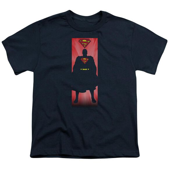 Superman Block Short Sleeve Youth T-Shirt