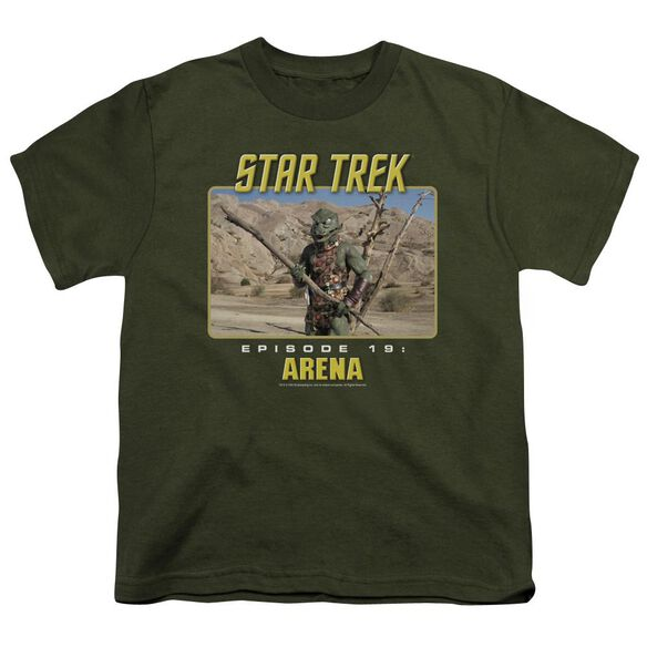 St Original Arena Short Sleeve Youth Military T-Shirt