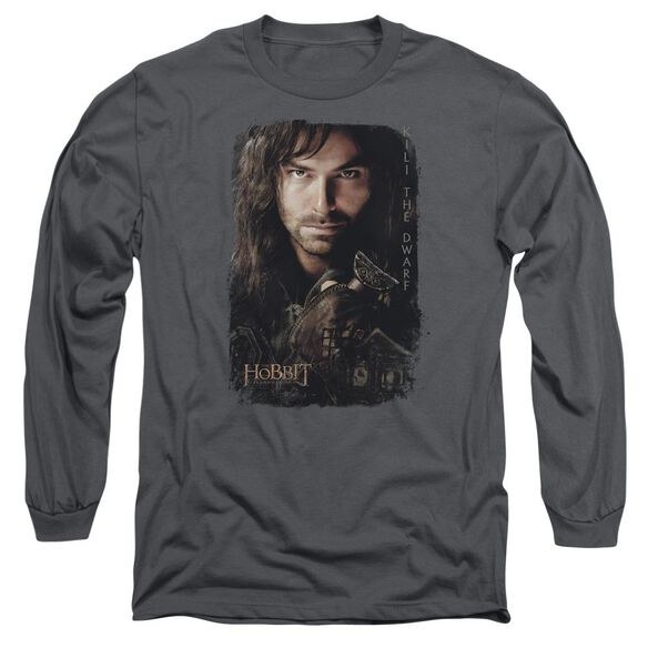 Hobbit Kili Poster Long Sleeve Adult T-Shirt