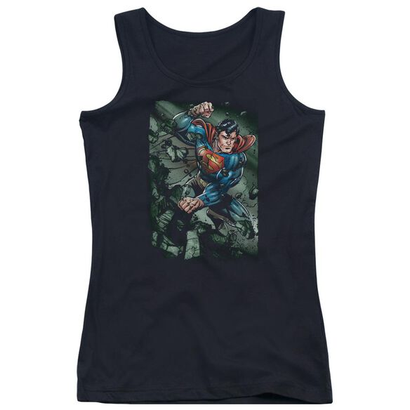 Superman Indestructible Juniors Tank Top