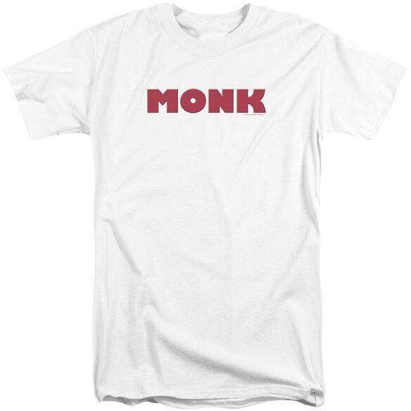 Monk Logo Short Sleeve Adult Tall T-Shirt