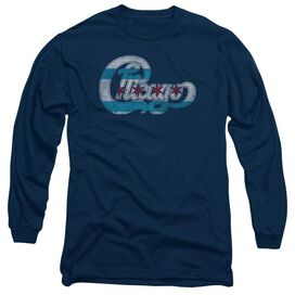 Chicago Flag Logo Long Sleeve Adult T-Shirt