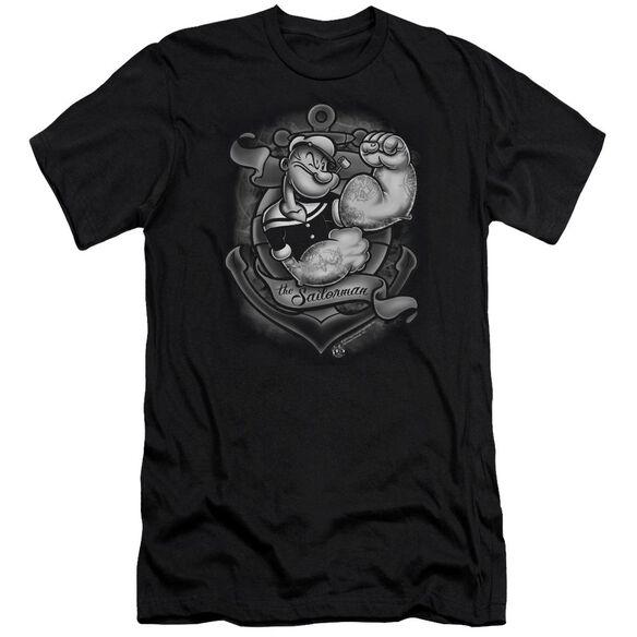 Popeye Anchors Away Short Sleeve Adult T-Shirt