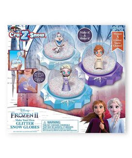 Frozen 2 Diy Snow Globes