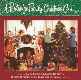 The Partridge Family - Partridge Family Christmas Card