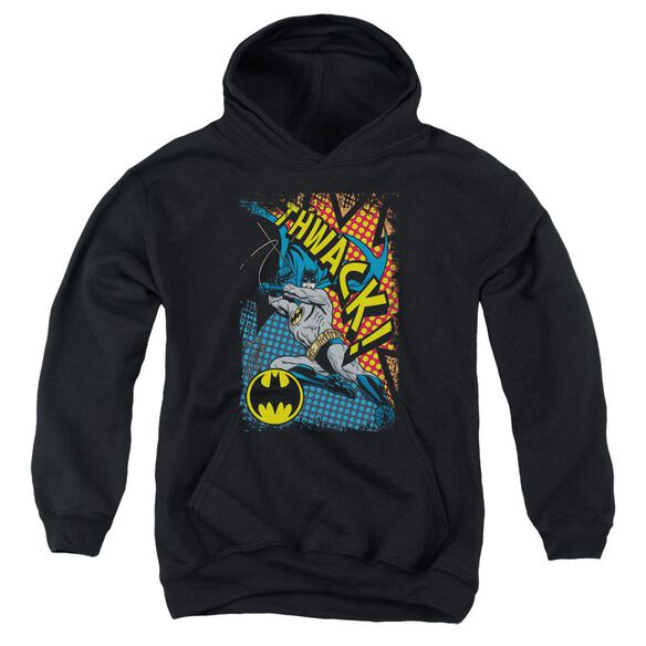 Batman Thwack Youth Pull Over Hoodie